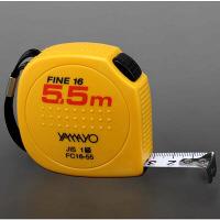 コンベックス セーフティタイプ ファイン16 16mm×5.5m FC16-55 1個 ヤマヨ測定機(YAMAYO) (取寄品)