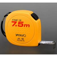 コンベックス セーフティタイプ ファイン19 19mm×7.5m FC19-75 1個 ヤマヨ測定機(YAMAYO) (取寄品)