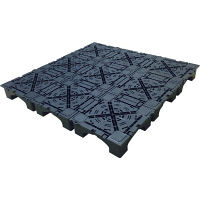 フクビ化学工業 フクビ OAフロアシリーズ クリーンOAフロア用 フロアベースピット(3000N) 樹脂系置敷溝配線タイプ 1枚 (直送品)