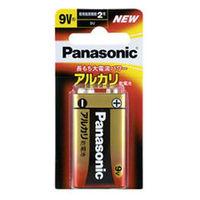 パナソニック アルカリ乾電池 9V形 1本ブリスターパック 6LR61XJ/1B 1個  (直送品)