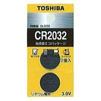 東芝 コイン形リチウム電池 CR2032EC2P 1個  (直送品)