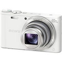 ソニー デジタルスチルカメラ Cyberーshot WX350 (1820万画素CMOS/光学x20) ホワイト DSC-WX350/W 1台  (直送品)