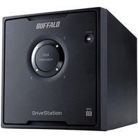 バッファロー ドライブステーション プロ RAID5対応 USB3.0用外付けHDD 4ドライブモデル 12TB HD-QH12TU3/R5 1台  (直送品)