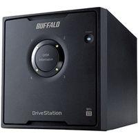 バッファロー ドライブステーション プロ RAID5対応 USB3.0用外付けHDD 4ドライブモデル 16TB HD-QH16TU3/R5 1台  (直送品)