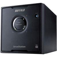 バッファロー ドライブステーション プロ RAID5対応 USB3.0用外付けHDD 4ドライブモデル 8TB HD-QH8TU3/R5 1台  (直送品)