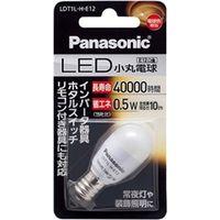 パナソニック LED電球 小丸電球 0.5W (電球色相当) LDT1LHE12 1個  (直送品)
