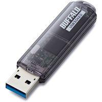 バッファロー USB3.0対応 USBメモリー スタンダードモデル 8GB ブラック RUF3-C8GA-BK 1台  (直送品)