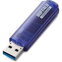 バッファロー USB3.0対応 USBメモリー スタンダードモデル 8GB ブルー RUF3-C8GA-BL 1台  (直送品)