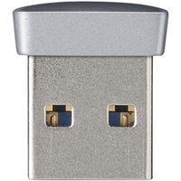 バッファロー USB3.0対応 マイクロUSBメモリー 8GB シルバー RUF3-PS8G-SV 1台  (直送品)