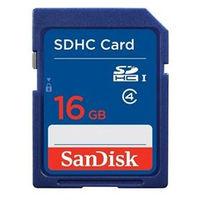 サンディスク スタンダード SDHCカード 16GB SDSDB-016G-J35U 1枚  (直送品)