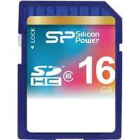 シリコンパワー SDHCメモリーカード 16GB (Class6) 永久保証 SP016GBSDH006V10 1枚  (直送品)