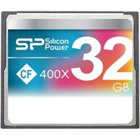 シリコンパワー コンパクトフラッシュカード 400倍速 32GB 永久保証 SP032GBCFC400V10 1枚  (直送品)