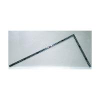 シンワ測定 曲尺角厚 シルバー 併用目盛 日本一 1尺5寸/呼寸 52cm 10011 1本 (取寄品)