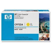 HP(ヒューレット・パッカード) プリントカートリッジ(イエロー)(CLJ4600/4600dn) C9722A 1個  (直送品)