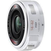 デジタル一眼カメラ用交換レンズ LUMIX G X VARIO PZ 14ー42mm/F3.5ー5.6 (ホワイト) H-PS14042-W  (直送品)