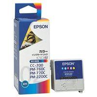 エプソン インクカートリッジ カラー (PMー760C/770C/2200C/CCー700用) IC5CL02 1個  (直送品)