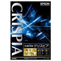 エプソン 写真用紙クリスピア<高光沢> (A3ノビ/20枚) KA3N20SCKR 1個  (直送品)