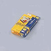 アイリスオーヤマ ラミネートフィルム 100ミクロン(名刺サイズ)/1箱100枚入 LZ-NC100 1個(直送品)