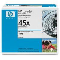 HP(ヒューレット・パッカード) トナーカートリッジ(LJ4345mfp/4345xmfp用) Q5945A 1個  (直送品)
