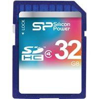 シリコンパワー SDHCメモリーカード 32GB (Class4) 永久保証 SP032GBSDH004V10 1枚  (直送品)