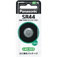 パナソニック 酸化銀電池 SR44 SR44P 1個  (直送品)