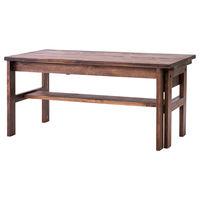 吉桂 SOME エクステンションテーブル ブラウン 幅900×奥行480×高さ420mm 1台 (直送品)