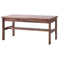 吉桂 SOME リビングテーブル ブラウン 幅900×奥行480×高さ420mm 1台 (直送品)