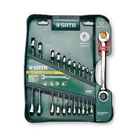 SATAコンビネーションラチェットレンチ12本セット RS-09066 SATA Tools (直送品)
