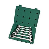 SATA リバーシブルコンビネーションラチェットレンチ6本セット RS-09080 SATA Tools (直送品)