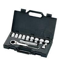 """SATA 12pcs1/2""""貫通ラチェットソケットセット RS-09133 SATA Tools (直送品)"""