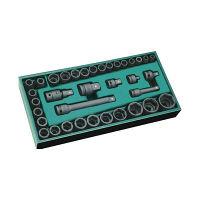 SATA 36pcs3/8″&1/2″インパクトソケットセット RS-09914 SATA Tools (直送品)