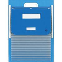 ケルン カーデックス ブルー A4 スタンダード 15枚 KD-307 (直送品)