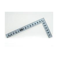 シンワ測定 曲尺平ぴた シルバー 併用目盛 5寸/呼寸 16cm 10037 1本 (取寄品)
