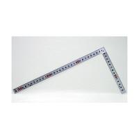 シンワ測定 曲尺平ぴた シルバー 併用目盛 1尺/呼寸 32cm 10047 1本 (取寄品)