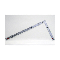 シンワ測定 曲尺平ぴた シルバー 併用目盛 一尺/呼寸 32cm 10048 1本 (取寄品)