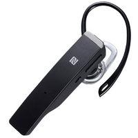バッファロー Bluetooth4.1対応 デュアルマイクヘッドセット NFC対応 ブラック BSHSBE34BK 1台  (直送品)