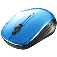 バッファロー 無線(ワイヤレス)マウス BSMBW107シリーズ ブルー ブルーLED式/3ボタン/RoHS指令準拠 BSMBW107BL (直送品)