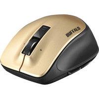 無線(ワイヤレス)マウス(静音) Premium Fitマウス ゴールド レーザー式/5ボタン/静音タイプ/Mサイズ BSMLW500MGD(直送品)