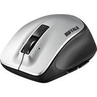 無線(ワイヤレス)マウス(静音) Premium Fitマウス シルバー レーザー式/5ボタン/静音タイプ/Mサイズ BSMLW500MSV(直送品)