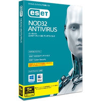 キヤノンITソリューションズ ESET NOD32アンチウイルス Windows/Mac対応 5年1ライセンス CITS-ND10-041 1本  (直送品)