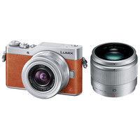 パナソニック デジタル一眼カメラ LUMIX GF9 ダブルレンズキット (オレンジ) DC-GF9W-D 1台  (直送品)
