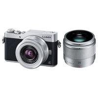 パナソニック デジタル一眼カメラ LUMIX GF9 ダブルレンズキット (シルバー) DC-GF9W-S 1台  (直送品)