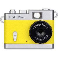 ケンコー [クラシックカメラ風デザインの超小型トイデジタルカメラ] DSC Pieni レモンイエロー DSC-PIENI LY 1個  (直送品)