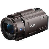ソニー デジタル4Kビデオカメラレコーダー Handycam AX40 ブロンズブラウン FDR-AX40/TI 1台  (直送品)
