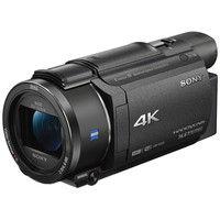 ソニー デジタル4Kビデオカメラレコーダー Handycam AX55 ブラック FDR-AX55/B 1台  (直送品)