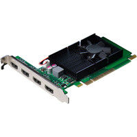 ELSA HDMI1.4準拠 4K映像4画面出力対応ビデオカード GeForce GT 730 1GB QD GD730-1GERQD 1式  (直送品)