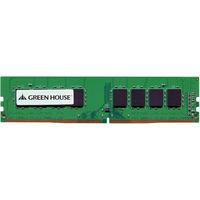グリーンハウス デスクトップ用 PC4ー17000(DDR4ー2133) DIMM 4GB 永久保証 GH-DRF2133-4GB 1枚  (直送品)