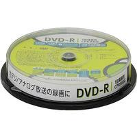 グリーンハウス DVDーR CPRM 録画用 4.7GB 1ー16倍速 10枚スピンドル インクジェット対応 GH-DVDRCB10 1個  (直送品)
