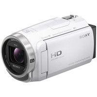 ソニー デジタルHDビデオカメラレコーダー Handycam CX680 ホワイト HDR-CX680/W 1個