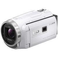 ソニー デジタルHDビデオカメラレコーダー Handycam PJ680 ホワイト HDR-PJ680/W 1個  (直送品)